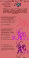 Amberlinas Lineart Tutorial by PinkScooby54