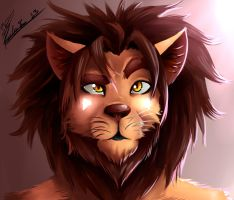 Look like a lion by paulo228123