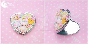 Mixed candy bear Mirror by CuteMoonbunny