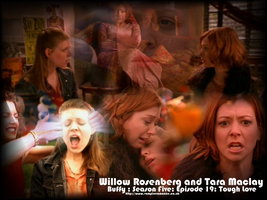 Willow and Tara Tough Love by DarknessLives