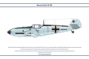 Bf 109 E-4 JG77 1 by WS-Clave