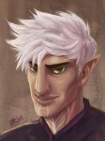 Faux Hawk Fenris by CantonKid