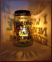 Palms Of My Hand Candle by Bonniemarie