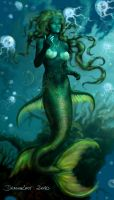 Mermaid by Eva-the-DragonLady