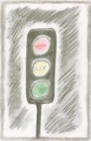 The Traffic Light by Sintitiks