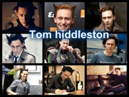 Collage Tom Hiddleston by kathy1234567