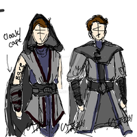 Jedi/Sith In between concept art by i-Anzu