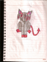 Artemis the Demon Kitty by Thunder-the-Mouse