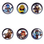 Dungeons and Dragons Tokens by Dragonchild