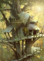 Treehouse by MarcoBucci