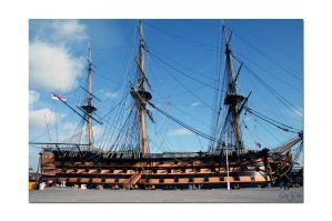 HMS Victory No11 by unclejuice