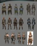 Guild Wars 2 Heavy Armor Sets by haikai13