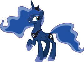 Princess Luna by LooseKnot