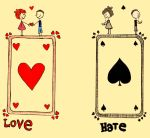 Hearts and Spades by AlliNeedIsLove