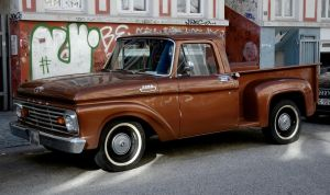 Ford Custom Cab by cmdpirxII