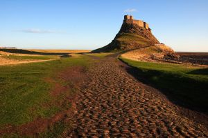 Holy Island Castle - by scotto