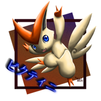 Victini by LuckyLucario