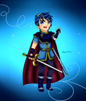 Kawaii Marth by Shamira1479