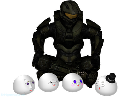 The Master Chief and the Four Brothers by Shinigami-Spartan