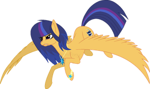 [GIFT] Angry Pegasus Attack by BlueRainiPony