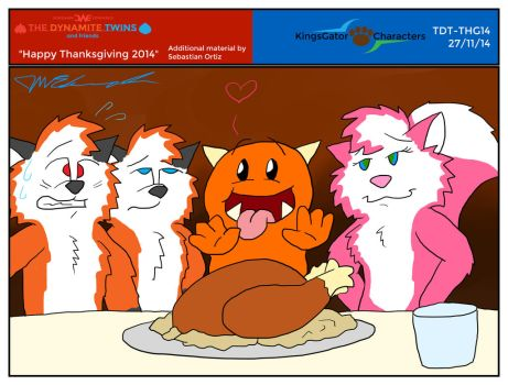 TDT - Happy Thanksgiving 2014 by JWthaMajestic