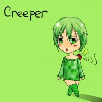 Minecraft 2 - Creeper by Ofelie