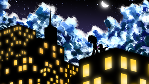 Among City Lights by flamevulture17