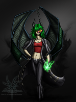 :RQ: Nobara-the-dragon - Emo by Aniseth-LightWing