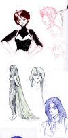 Set sketches 1 by Kyomi89