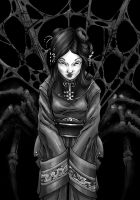 Spider woman by IanLIR