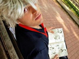 My best addiction - Gintoki by Carlos-Sakata