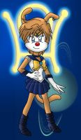 OMG it's Sailor Uranus by SonicandShadowfan15