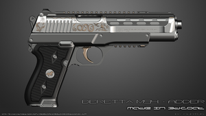 Beretta m94 - ADDER (Right) by Cleitus2012