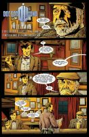 Doctor Who: Fade Away pg 1 by PaulHanley