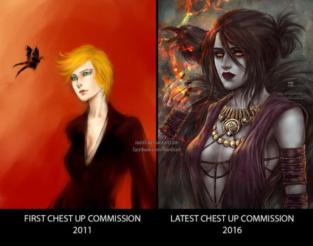 commission then vs now by NanFe