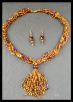 Wynni's Necklace Set by copper9lives