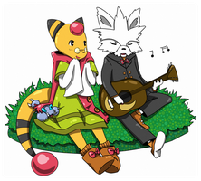 PKMNC - Musical morning by cherifish