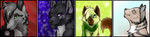 Icons Batch: 80 - 84 by Warrioratheart