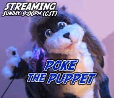 Streaming LIVE puppetry by Stitchfan