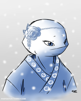 Yuki-Onna by fivefootoh