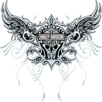 Harley Design wings 02 by MalachiDesigns