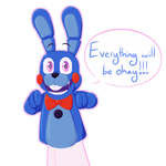 Everything will be okay!!! by dompteuseArtist