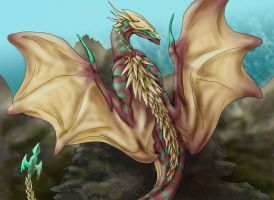 trivian dragon by quinnk