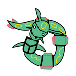 Sneak Preview - 384 Rayquaza by QuietCrystal