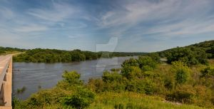Des Moines River in Boone County West of Luther by lividity101