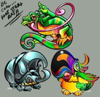 Discarded aminals by bassanimation
