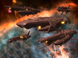 NMX Battlegroup by Wes-of-StarArmy
