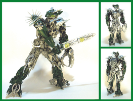 Bionicle MOC - Byorak 3.3 by Alex-Darkrai