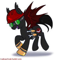Vechs Batpony by Radioactive-K