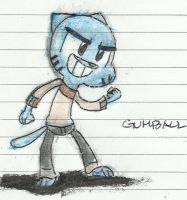 Gumball Watterson by Mike-TA